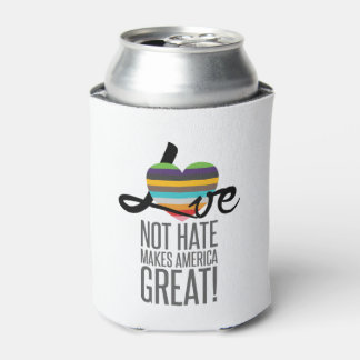 Love Not Hate (SWM) Can Cooler