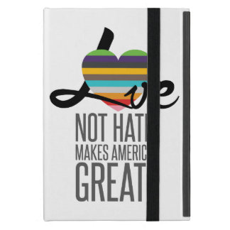Love Not Hate (SWM) iPad Case
