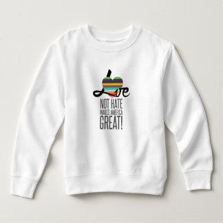 Love Not Hate (SWM) Toddler Sweatshirt