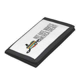 Love Not Hate (SWM) Tri-fold Wallet