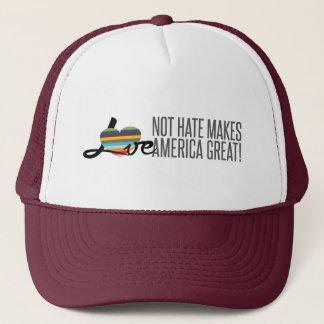 Love Not Hate (SWM) Trucker Hat