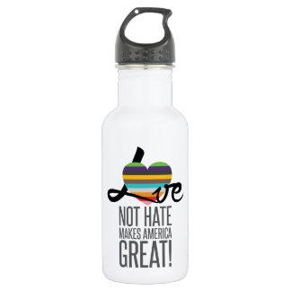 Love Not Hate (SWM) Water Bottle