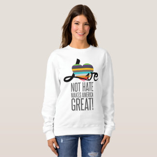 Love Not Hate (SWM) Women's Basic Sweatshirt