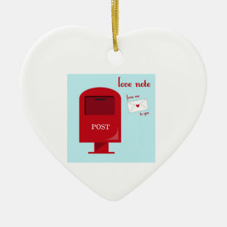 Love Note Ornament