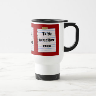 Love Notes For Godfather Mug