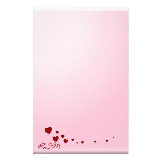 Love Notes monogram Stationery