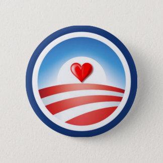 Love Obama Button