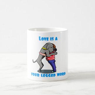 Love of a Great Dane Coffee Mug