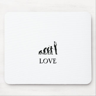 Love of basketball mouse pad