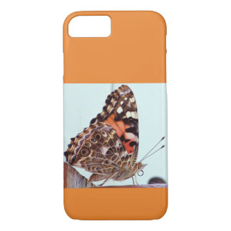 Love of butterflies on orange background iPhone 8/7 case