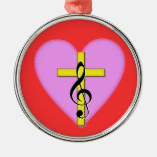Love of Christian Music Christmas Ornaments
