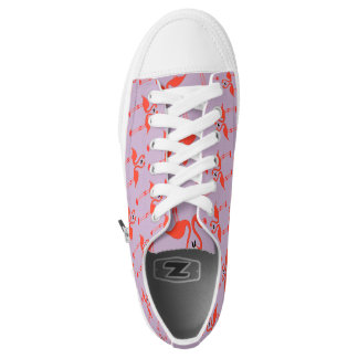 Love of flamingos low tops