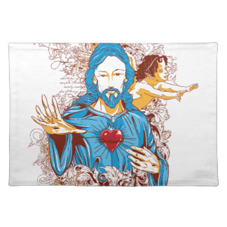 Love of god christ placemat