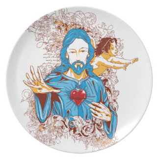 Love of god christ plate