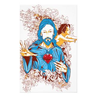 Love of god christ stationery