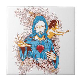 Love of god christ tile