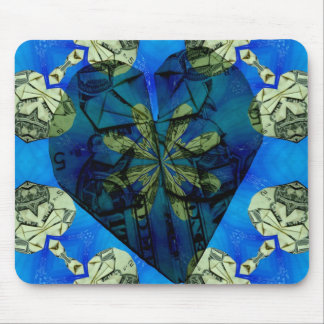 Love of money oragami mousepad