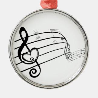 Love of Music Christmas Tree Ornament