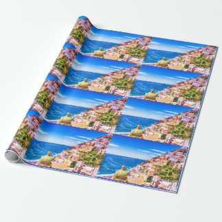 Love Of Positano Italy Wrapping Paper