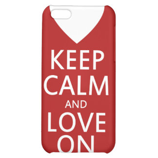 Love on for Valentines day Case For iPhone 5C