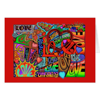 LOVE on OVER~flow Card