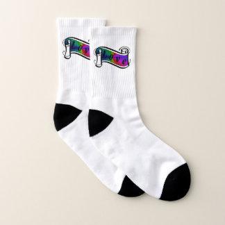 Love on Rainbow Socks