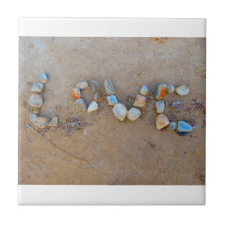 Love on the Beach Summertime Tile