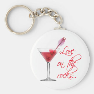 love on the rocks key ring