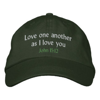 Love one another as I love you hat