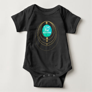 Love one Another- Hippie, Sacred Geometry Bodysuit