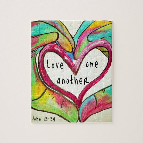 LOVE ONE ANOTHER JIGSAW PUZZLE