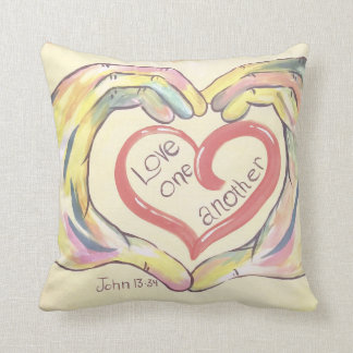 Love One Another Pillow