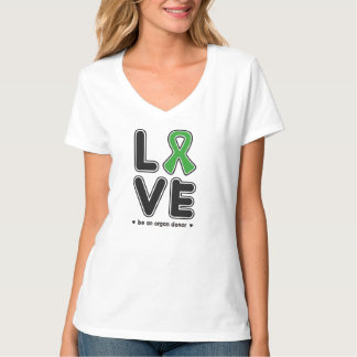 Love/Organ donation Women's T-Shirt