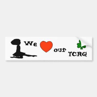 Love our TCRG - Irish Dance Teacher Bumper Sticker