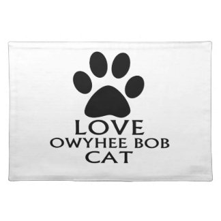 LOVE OWYHEE BOB CAT DESIGNS PLACEMAT