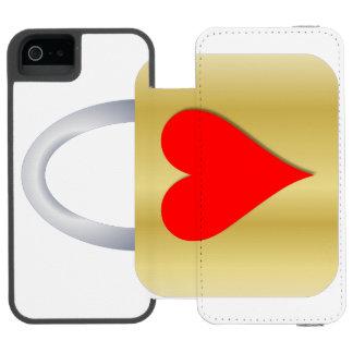 Love padlock incipio watson™ iPhone 5 wallet case