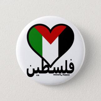 Love Palestine 6 Cm Round Badge