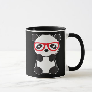 Love Panda Bear Mug - Leon The Panda Bear in Love