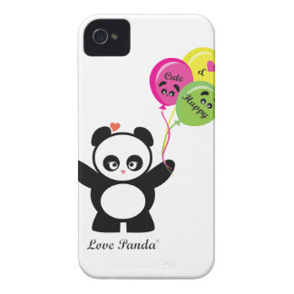 Love Panda® BlackBerry Bold Case-Mate Barely There Case-Mate iPhone 4 Case