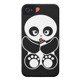 Love Panda® BlackBerry Bold Case-Mate Barely There iPhone 4 Case