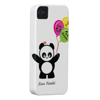 Love Panda® BlackBerry Bold Case-Mate Barely There iPhone 4 Case-Mate Case