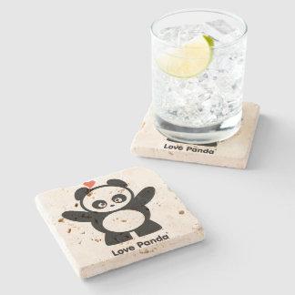 Love Panda® Stone Coaster