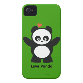 Love Panda® iPhone 4/4S Case-Mate Barely There™ iPhone 4 Case