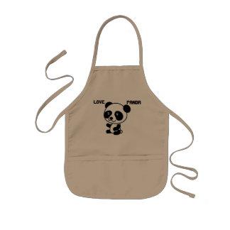 Love Panda Kids Apron