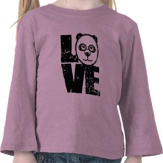 Love Panda Tee Shirts