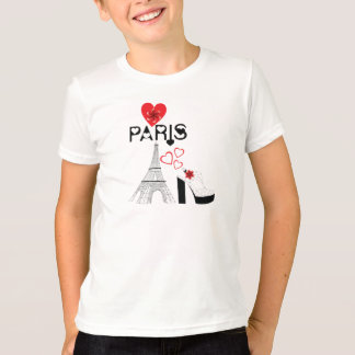Love Paris fashion T-Shirt