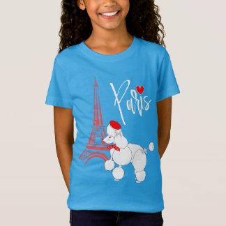 Love Paris French Poodle Super Cute T-Shirt