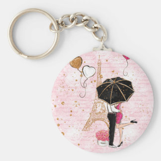 Love / Paris / Girly Fashionable / Keychains