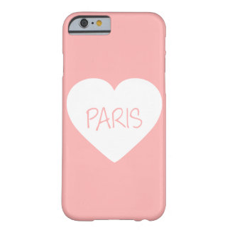 Love Paris heart Barely There iPhone 6 Case