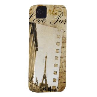 Love Paris iPhone Case iPhone 4 Case-Mate Case
